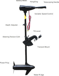 86lbs DC Electric Trolling Motor for Fresh and Salt Water pictures & photos