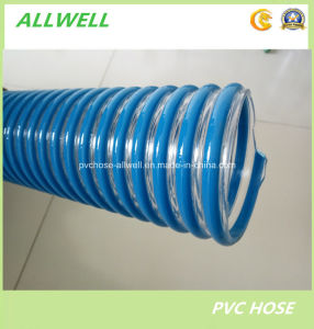 "PVC Suction Spiral Garden Discharge Water Irrigation Hose Pipe 3"" pictures & photos"