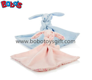 Soft Plush Stuffed Rabbit Toy with Comforter Blankie with CE Bosw1019-1020 pictures & photos