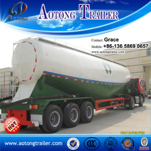 Tri-Axle 50cbm 60ton Bulk Cement Tank Semi Trailer, Cement Bulk Carriers, Bulk Cement Tanker, Bulk Cement Transport Truck, Bulk Cement Trailer for Sale pictures & photos