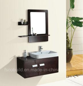 Solid Wood Bathroom Furniture, Modern Bathroom Vanity, Bathroom Cabinet (K-1037)
