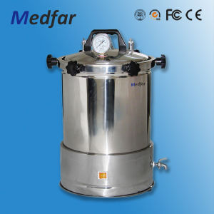 Hot Selling Medfar Ordinary Portable Stainless Steel Autoclaves Anti-Dry Type Mfj-Yx280A with CE pictures & photos