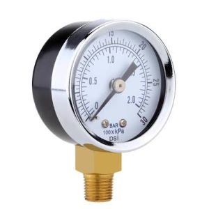Air Compressor Pressure Gauge Menometer pictures & photos