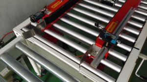 Fxj-At5050 Fully Automatic Case/Carton Sealers with Cover Folding Function pictures & photos