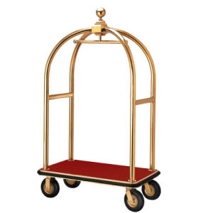Luxury Hotel Luggage Trolley (DF63) pictures & photos