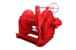 Ini Hydraulic Free Fall Construction Winch with Invention Patent pictures & photos