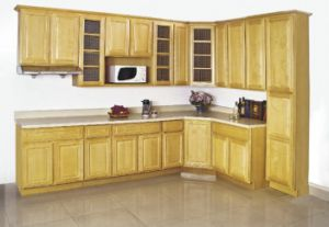 American Kitchen Furniture Solid Wood Maple Kitchen Cabinet pictures & photos