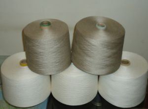 26nm/1 Long Fiber Semi-Bleach 100%Flax Yarn