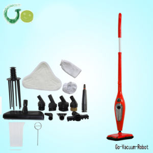 12in1 Power Fast Heating Handheld Steamer Mop Cleaner Adjustable Steam with Durable Mop Pads Ce, RoHS, CCC Certification pictures & photos