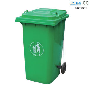 En840 Approved HDPE Plastic Trash Can/Dustbin (FS-80240B) pictures & photos
