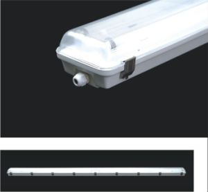 2.4m Waterproof Batten Light with 4xt8 IP65 pictures & photos