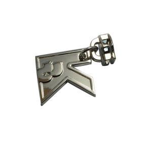 Zipper Pull Silver Plated Letter ′k′ Metal Zipper Puller Zipper Slider pictures & photos