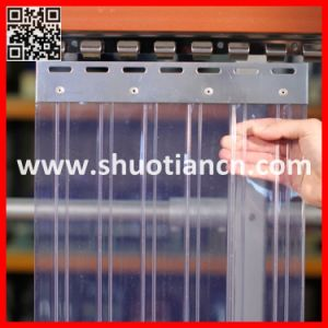 High Transparent Cold Room Freezer PVC Curtain (ST-004) pictures & photos