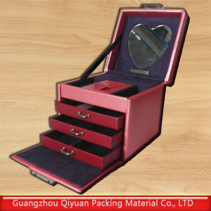 Electric Packing PU Box with Mirror (QC-PU-001)