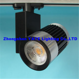 Yaye COB 15W/20W/30W/40W LED Track Light / LED Track Lamp with CE/RoHS pictures & photos