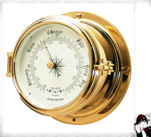 Nautical Barometer with Open Type Case Dial 180mm pictures & photos