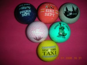 Logo Branded Tourism Souvenir Gift Professional March Golf Ball pictures & photos