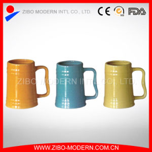 Ceramic Beer Mug in Different Colors pictures & photos
