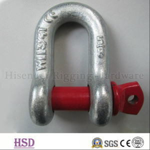 E. Galvanized U. S. Type G210 Screw Pin Anchor Shackle for Lifting pictures & photos