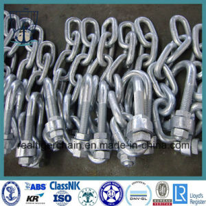 High Tensile Open Link Chain/ Studless Link Anchor Chain pictures & photos
