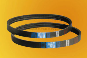 EPDM Rubber Raw Edge Cogged V Belt for European Bus pictures & photos
