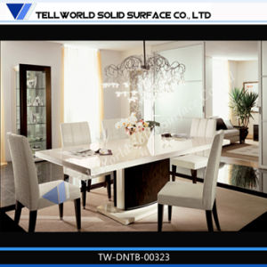 Tw Artificial Stone Dining Room Table and Chair for 4 People (TW-DNTB-00323) pictures & photos