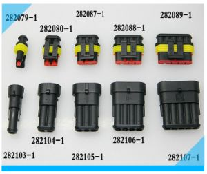 Waterproof AMP Male Female Auto Connector pictures & photos