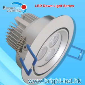 9W Waterproof LED Down Light with CE RoHS Certificate pictures & photos