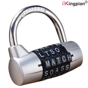 5 Letter Word Digital Combination or Code Padlock pictures & photos