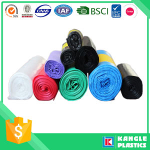 HDPE Star Sealed Bottom Bag Trash Can Liner on Roll pictures & photos