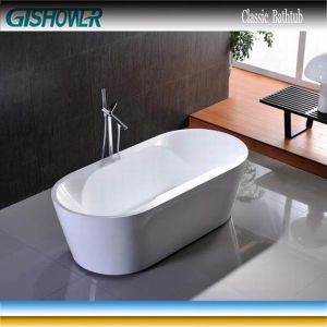 Modern Oval Freestanding Bathtub (KF-731) pictures & photos