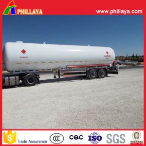 3 Axle Truck 36-58cbm Liquidfied Gas LPG Tank Semi Trailer pictures & photos