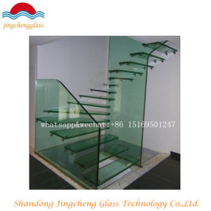 6+0.76+6 Tempered Laminated Glass Staircase pictures & photos
