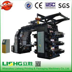 High Speed Packing Materials Flexographic Printing Machine 6 Colors pictures & photos