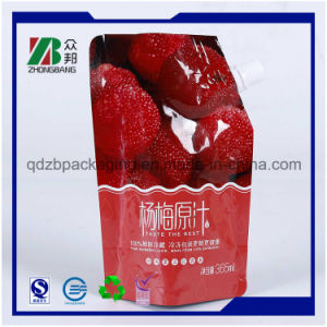 Reusable Plastic Food Spout Pouch for Juice and Jelly pictures & photos