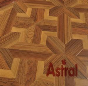 12mm Mirror Surface (U-Groove) Parquet Laminate Flooring (6974) pictures & photos