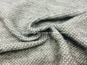 High Quality Heather Yarn Dyed 100% Acrylic Mesh Knitting Fabric for Sweater pictures & photos