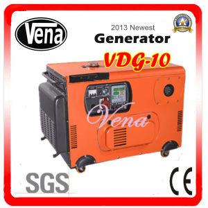 10 Kw Silent Diesel Generator Set Sound Proof Box Vdg-10 pictures & photos