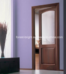 Soundproof Glass Room Veneered Interior Door pictures & photos