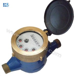 Multi Jet Full Liquid Sealed Class C Brass Water Meter pictures & photos