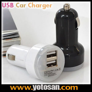 Portable Mini Car Charger Adaptor Dual USB Car Charger 2-Port pictures & photos