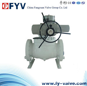 API6d Top-Entry Ball Valve with Electric Actuator pictures & photos
