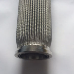 1 3 5 10 20 50 100 Micron Pleated Stainless Steel Mesh Filter Element/Stainless Steel Mesh Filter Crtridge pictures & photos