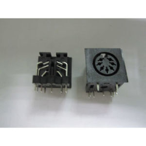 DIN Power Jack Connectors with 5, 000 Cycles Lifespan pictures & photos