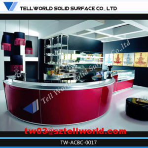 Cocktail Bar Counter with LED Lighting Design pictures & photos