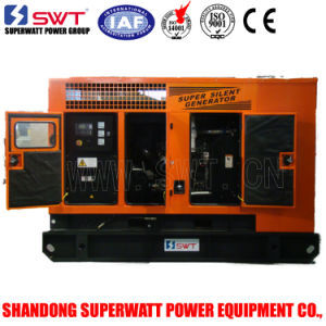 High Quality Soundproof 50Hz 40kw Diesel Generator Set pictures & photos
