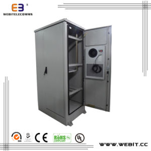 19 Inch 3 Rooms Outdoor Cabinet -- Heat Exchanger Space/ Battery Space/ Equipments pictures & photos