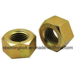 DIN934 Hex Nut Class 8 White Zinc Plated Cr3+ pictures & photos