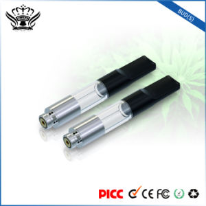 Hidden Oil-Ingress Design Super-Clear 0.5ml Cbd Oil Atomizer E Cigarette Tank pictures & photos