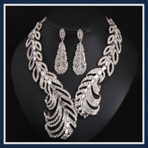 New Item Alloy Leaves Fashion Earring Necklace Jewelry Set pictures & photos
